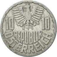 Autriche, 10 Groschen, 1952, Vienna, TTB, Aluminium, KM:2878 - Autriche