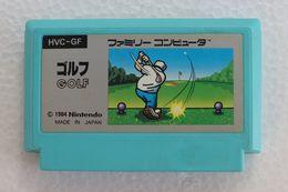Famicom : Golf HVC-GF - Electronic Games