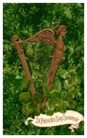 13345  St.Patrick's Day  Harp - Saint-Patrick's Day