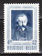 896**  Les Littérateurs - Bonne Valeur - MNH** - Pas De Tache - LOOK!!!! - Belgium