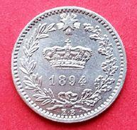 ♕  Italie / Regno D'Italia : 20 Centesimi ' Umberto I ' 1894 K.B  ♕ - 1878-1900 : Umberto I