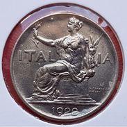 ♕♕  Italie : 1 Lire ' Vittorio Emanuele III ' 1922 R  ♕♕ - 1900-1946 : Victor Emmanuel III & Umberto II