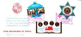 Tonga Card FDC 1970 - Tonga (1970-...)