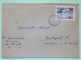 Hungary 1969 Cover Vitnyef To Budapest - Balaton Lake - Sailing Boats - Hungary