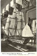 CPA N°4958 - ROYAL UNITED SERVICE MUSEUM - MODEL OF H.M.S CORNWALLIS BUILT 1812 - WHITEHALL - QUART DE LA ROYAL NAVY - Sonstige
