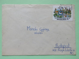 Hungary 1970 Cover To Budapest - Szentendre Arms Sheep - Hungary