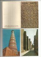Cp , OUZBEKISTAN , KHIVA , Arcitectural Monuments , 1971, 2 Scans, POCHETTE DE 16 CARTES POSTALES - Uzbekistan