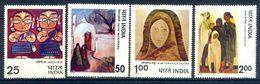 S53- India 1978 Indian Modern Art Paintings Of Rabindra Nath Tagore, Sailoz Mookerjea & Jamini Roy. - India