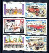 S66- Aruba 2001. Transport. Cars. Animals. Rabbit. Dresses. Folklore  Culture. - Cars