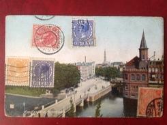 Cpa AMSTERDAM Raampoort - Periode 1891-1948 (Wilhelmina)
