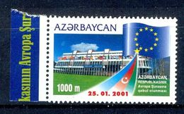 S70- Azerbaijan 2001. Admission To European Council. Flag. Europa Sympathy  Issue. - Azerbaïjan