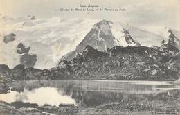 Les Alpes - Glacier Du Mont De Lans, Vu Du Plateau De Paris - Edition Fournier - Carte N° 7 Non Circulée - France
