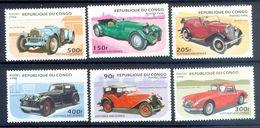 S80- CONGO KONGO 1996 WAGEN VOITURES AUTOMOBILES AUTOMOBILI CARS TRANSPORT. - Cars