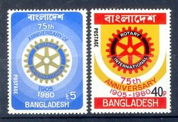 S85- Bangladesh 1980. 75th Anniversary Of Rotary International, Humanitarian Club. - Bangladesh