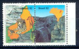 S88- Set Of Brasil 1992. Birds. Animals. Nature. Brazil. - Brazil