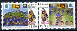 S89- Sri Lanka, 2007. ICC Cricket World Cup, Runner Up Issue - Sri Lanka (Ceylon) (1948-...)