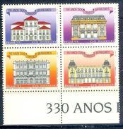 S91- Set Of Brazil. Brasil 1993. Building. - Brazil