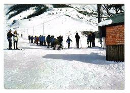 04 LARCHE Vers Barcelonnette Jausiers Départ Du Remonte Pente N°15058 En 1978 Skieurs - Barcelonnette