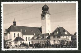 CPA Siebnen, Partie An Der Kath. L'Église Avec Friedhof - SZ Schwyz