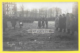 CPA 69 LYON PRISE D ARMES  Jeudi 23 Décembre 1915 ( Lyon Croix Rousse ) Militaire En Tenue Apparat - Autres