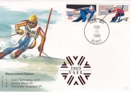 USA Cover 1989 Vail Co Slalom Herren    (G64-104) - Ski