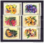 BURUNDI COB 944/9 ** MNH FLOWERS. (4Z105) - 1980-89: Neufs