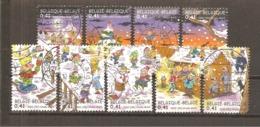 Bélgica - Belgium - Yvert  3092-95, 3097-01 (usado) (o) (3101 Defectuoso) - Bélgica