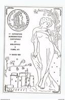 Fumel 1ere Exposition Numismatique Cartophile Et Bibliophile 1er Mars 1981 - Fumel