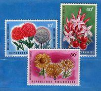 (MN1) RWANDA **- 1966 -  YVERT. 148-150-151 .  MNH.   Vedi Descrizione - Rwanda