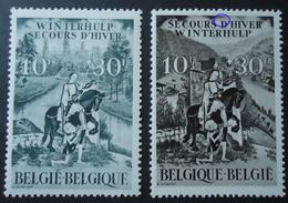 639/40 Mnh** - Bélgica
