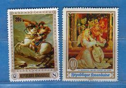 (MN1) RWANDA **- 1969 - Yvert. 322-323 .  MNH.   Vedi Descrizione - Rwanda