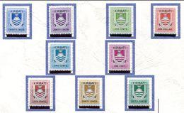 Kiribati **  Taxe 1 à 9 - Kiribati (1979-...)