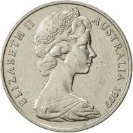 Australie, Elizabeth II, 20 Cents, 1977, TTB+, Copper-nickel, KM:66 - Monnaie Décimale (1966-...)