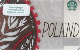 Polen Starbucks Card Country Card From Poland RR - Gift Cards