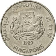 Singapour, 20 Cents, 1989, British Royal Mint, SUP, Copper-nickel, KM:52 - Singapour