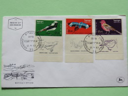Israel 1963 FDC Cover - Birds Kingfisher - Israël