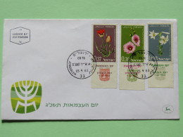 Israel 1963 FDC Cover - Flowers - Israel