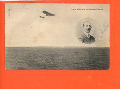 Aviateur - Louis Kuhling Sur Monoplan Blériot (état) - Aviateurs