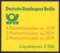 Berlin August 1980 / MiNr.  MH 11 C A  OZ  Mit  H-Blatt 19    ** / MNH   (mh1264) - [5] Berlin