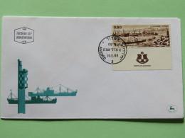 Israel 1969 FDC Cover - Ashdod Harbor - Ships - Israel