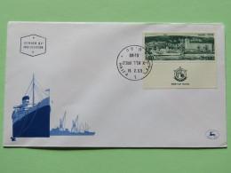 Israel 1969 FDC Cover - Haifa Harbor - Ships - Israel