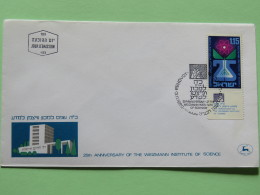 Israel 1969 FDC Cover - Weizmann Institute Of Science - Agriculture - Atom - Israel