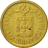 Portugal, 10 Escudos, 1988, TTB+, Nickel-brass, KM:633 - Portugal