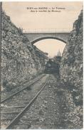 SCEY SUR SAONE - Le Tramway Dans La Tranchée Du Montoye - Sonstige Gemeinden