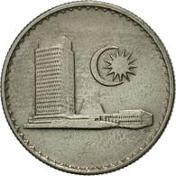 Malaysie, 10 Sen, 1976, Franklin Mint, TTB+, Copper-nickel, KM:3 - Malaysie