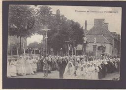 Finistere - Plumeliau - Procession De Communion - écrite 1911 - France