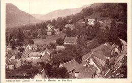 15 - SAINT VINCENT --  Route De Mauriac Au Puy Mary - Andere Gemeenten
