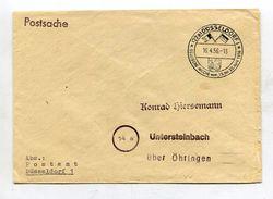 """Bundesrepublik Deutschland / 1956 / Bf. (Postsache) SSt. Duesseldorf """"Belgische Woche"""" (18163) - BRD"""