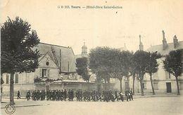PIE 17-T.ben-4533 : TOURS EDITION GRAND BAZAR.  HOTEL DIEU SAINT GATIEN - Tours