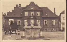 Denmark PPC Viborg. Stiftamthuset & Sct. Kjelds Brønd Stender 37926 Brünnen Fountain Fontane (2 Scans) - Danimarca